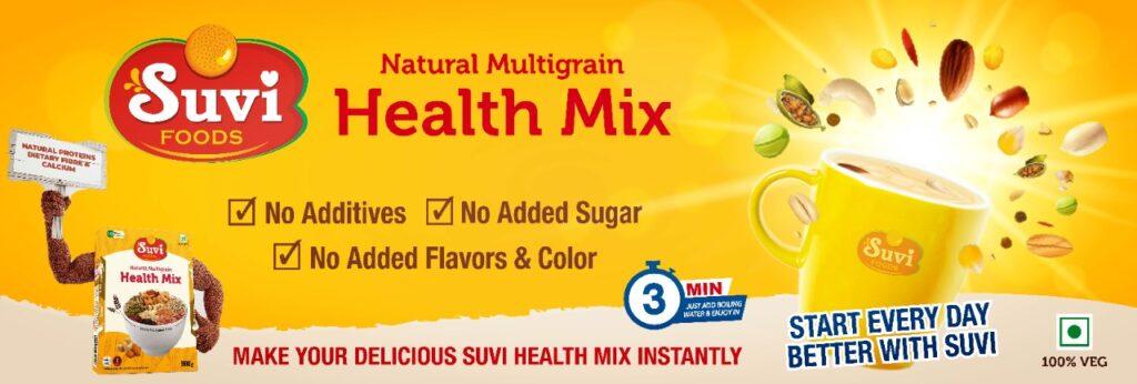 SUVI Foods Banner