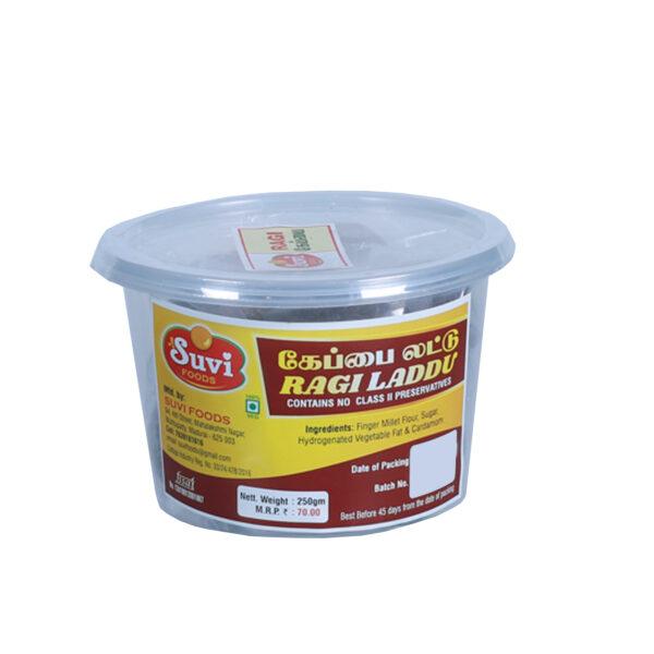 SUVI Ragi Laddu Made of White Sugar