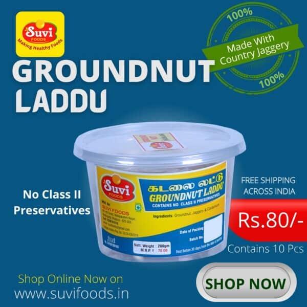 Groundnut Laddu